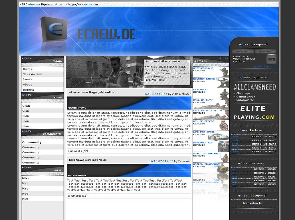 eCrew, Projekt gecancelt