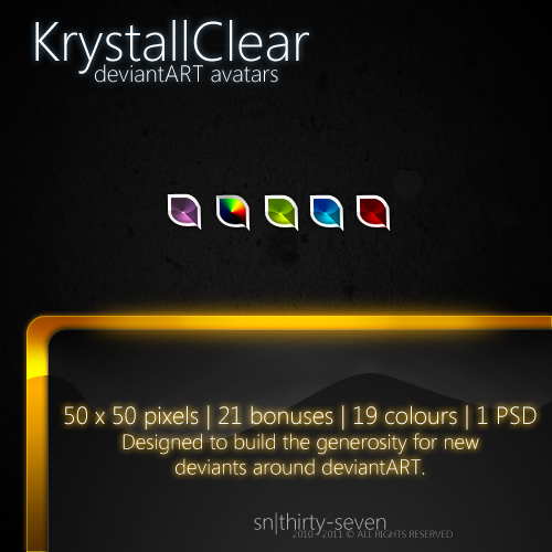 KrystallClear dA Avatars