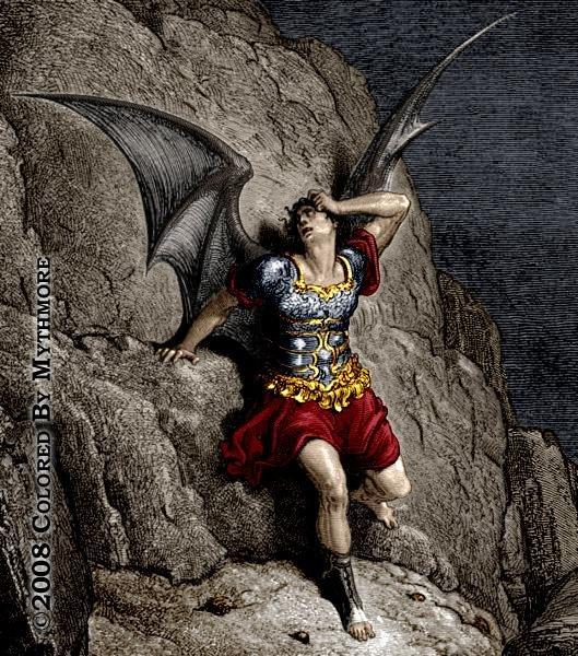 Satan's host pre dating god