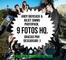 +Andy Biersack and Juliet Simms 'Jandy' photopack.