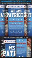 Independence Day Flyer Template V3