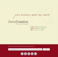 Zorro – Coming Soon Template