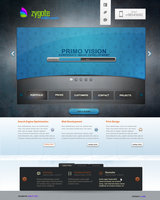 Zygote PSD Web-Design