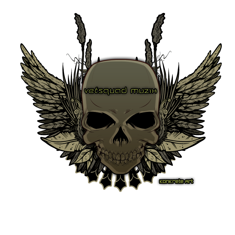 The vetsquad muzik skull logo will download as a psd file you will