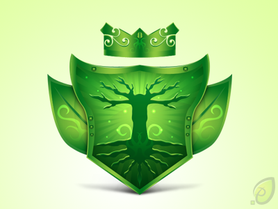 Shield icon – free psd