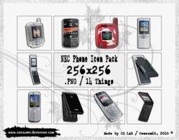 NEC Phones Icons Pack