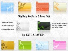 Stylish Folders 2 Icon Set