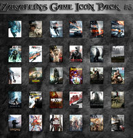 Zakafein's Game Icon Pack 6