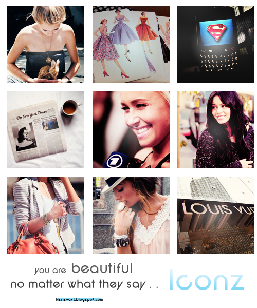 You are Beautiful – Icons