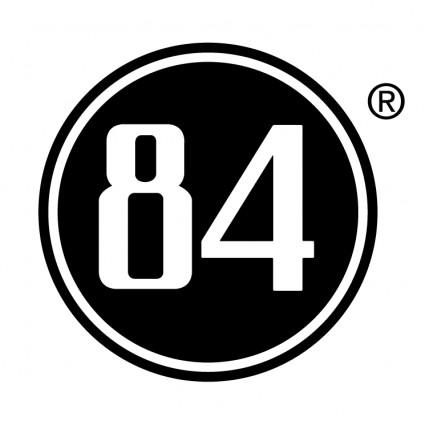 84 logo