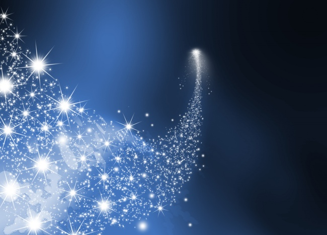 Bright blue stars background pictures