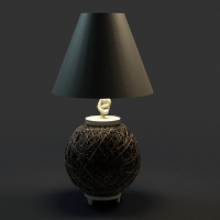 Chinese temperament elegant Bird's Nest Table Lamp