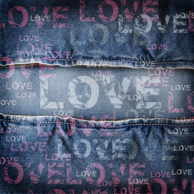 Denim material background pictures