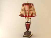 European classical table lamp 3D model