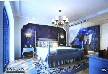 European Style classical fantasy bedroom