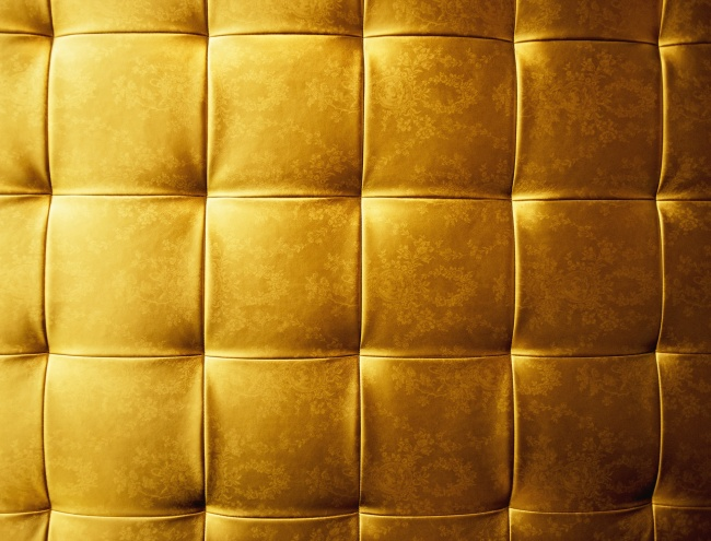 Gold leather sofa HD pictures