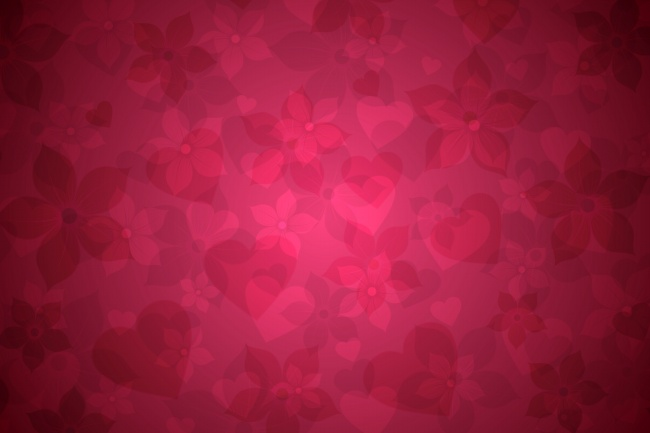 Heart-shaped shades red background picture