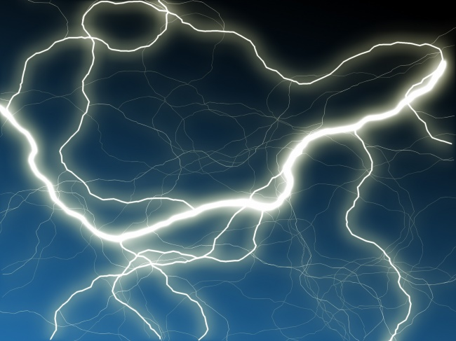 Lightning picture material download