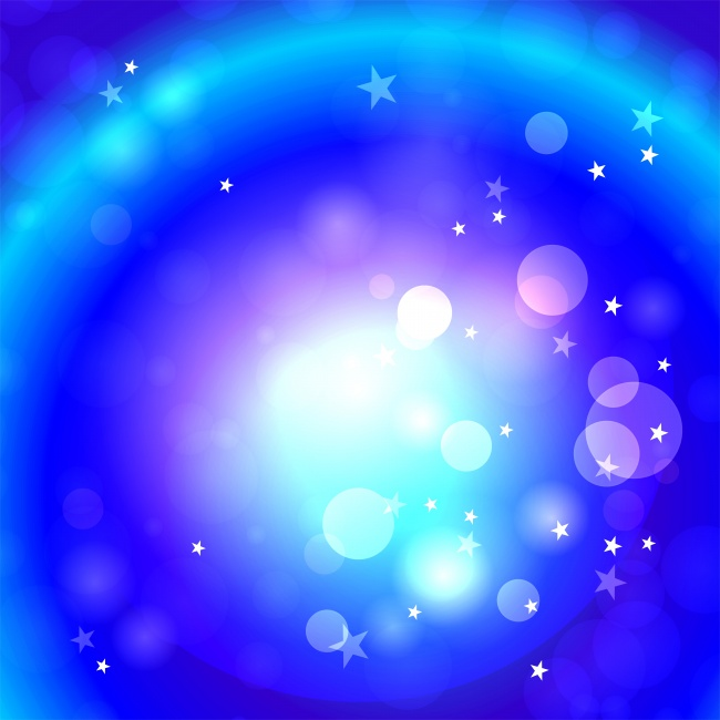 Lovely blue background stars picture
