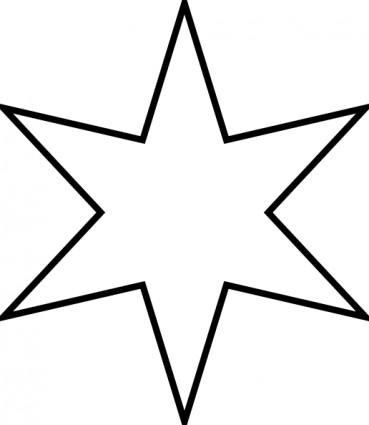 Звездочка картинка раскраска