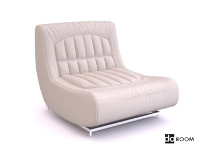 Modern sofa settee 3D model