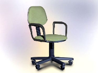 Office furniture model – swivel chair