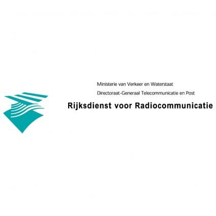 rijksdienst voor radiocommunicatie logo