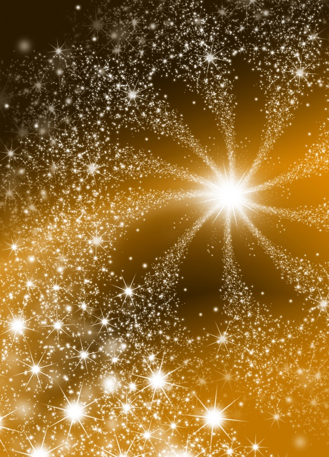 Shining star yellow background HD pictures