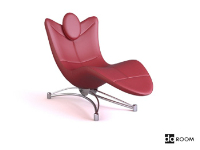 The alternative styling lounge chair 3D models