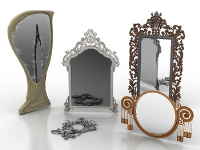 The European mirror combinations 3D model