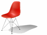 The foreign boutique office chair 3D models