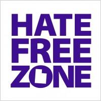 hate free zone logo