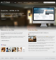 Business portfolio HTML5 website template