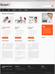 CSS3 IT company website template