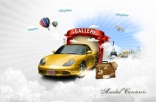 Design of creative posters PSD