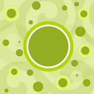 Grass green circle background pictures