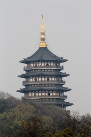 Hangzhou leifeng Tower desktop wallpaper