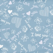Lovely light blue page background picture