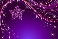 Purple stars background pictures