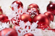 Red decorations beautiful pictures