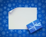 Shades of Blue Snowflake gifts