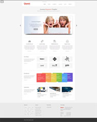 Technology exploration of HTML5 website template