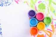 Watercolor color background picture