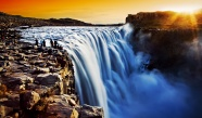 Waterfall scenery beautiful pictures