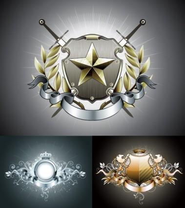 vector graphics european badge