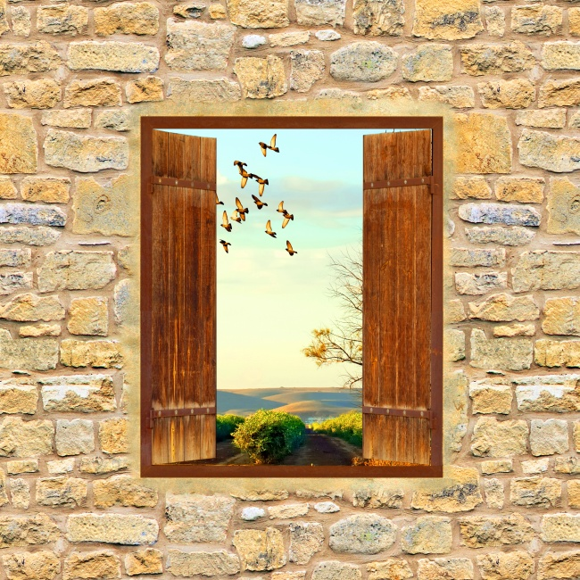 Village Windows beautiful scenery pictures
