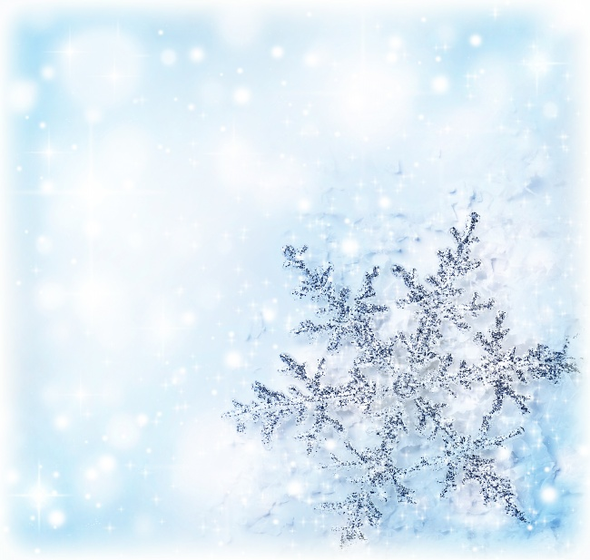White snow background picture