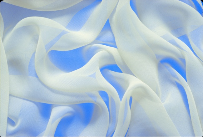 White transparent silk scarf HD pictures